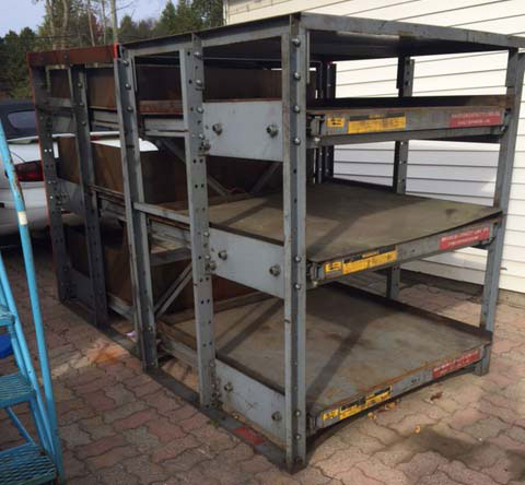 Heavy Duty Die Racking