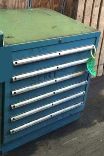 Lista - 6 drawer cabinet - used